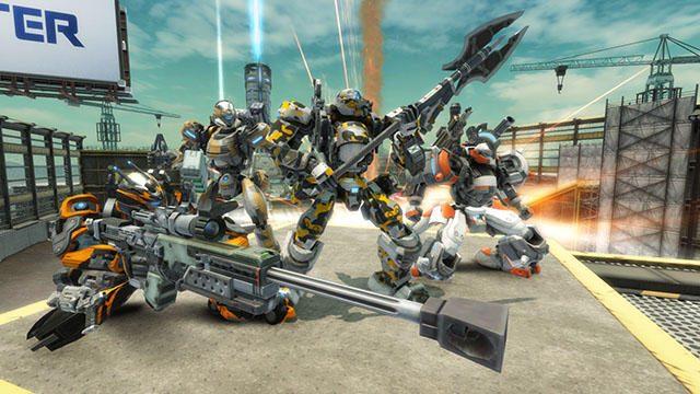 『BORDER BREAK』本日のバージョンアップで友達と楽しめる新機能追加! PS4®版完全新規マップなども登場!