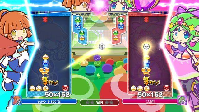 国民的パズルゲーム『ぷよぷよeスポーツ』が500円(税込)で楽しめる! お得なセールが期間限定で開催中!