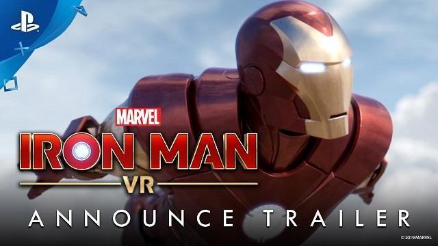 『マーベルアイアンマン VR』が 2019年にPlayStation®VRで登場