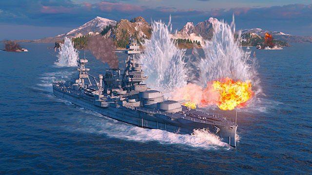 大海原の覇者となれ!基本プレイ無料のオンライン海戦アクション『World of Warships: Legends』本日開戦!
