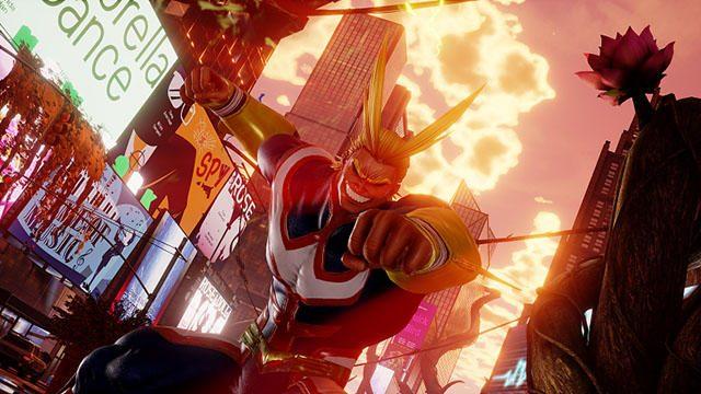 DLCキャラクター「オールマイト」が5月に『JUMP FORCE』参戦! その勇姿を収録したショートPVが公開!