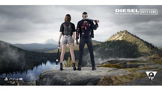 『Days Gone』とアパレルブランド「DIESEL」がコラボ! 全国主要店舗とオンラインストアで4月26日発売!