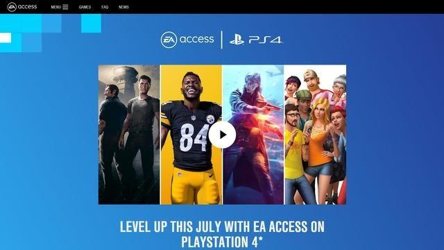 EA、PlayStation®4にサブスクリプションサービス「EA Access」を展開