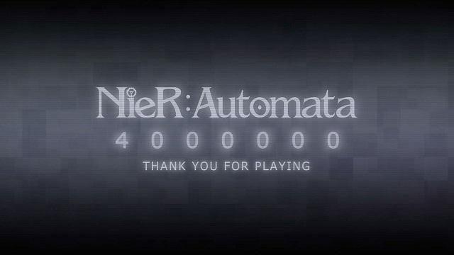 『NieR:Automata』の世界累計出荷・ダウンロード販売本数が400万本を突破!
