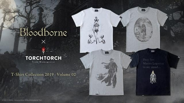 『Bloodborne』とアパレルブランド「TORCH TORCH」のコラボTシャツ、2ヶ月連続リリースの第二弾が登場!