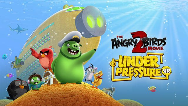 【PS VR】潜水艦の艦長とクルーの協力プレイ!『The Angry Birds Movie 2 VR: Under Pressure』本日配信!
