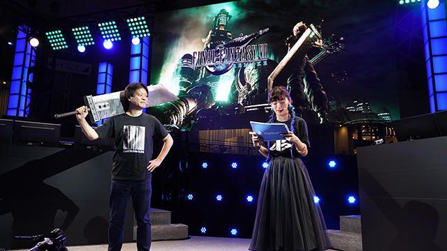 【TGS2019ステージレポート】『FFVII REMAKE』召喚獣&ミニゲームのデモを初披露!! バトルの解説も!