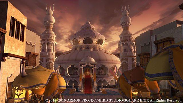 『ドラゴンクエストX いばらの巫女と滅びの神 オンライン』の新たな舞台、魔界の新興国「ファラザード」