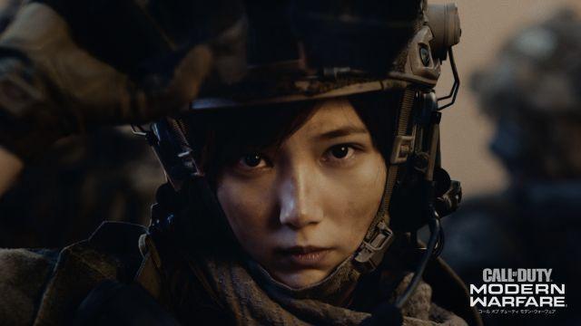 『CoD:MW』の新TVCM「共に、戦う者たちの高みへ。」篇を10月20日より公開! 本田翼さんが兵士役に初挑戦!