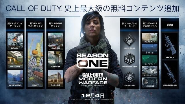 無料マップやモードなど!『CoD:MW』シーズンコンテンツ「Season One」アップデートが本日配信スタート!