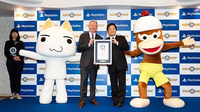 「プレイステーション」が「史上最も売れた家庭用ビデオゲームコンソールブランド」のギネス世界記録に!
