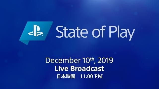 PlayStation®の新情報発表・動画配信イベント「State of Play」第4回が12月10日午後11時に放送決定!