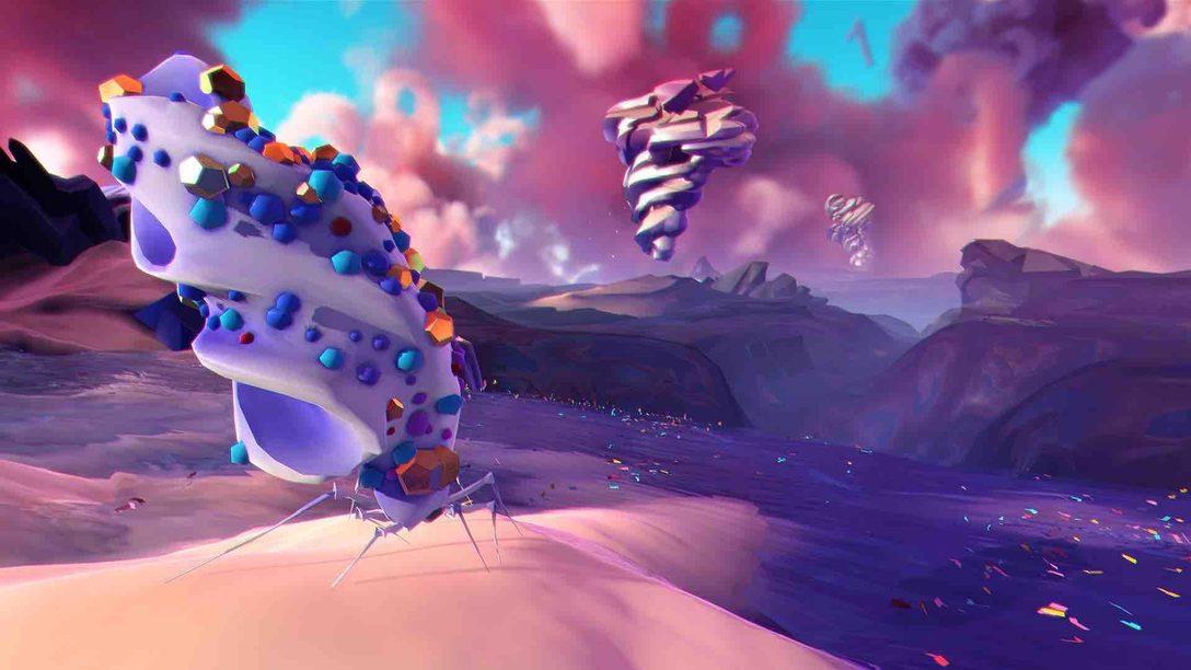 PS VRに登場! 折り紙の動植物が生息する『Paper Beast』の幻想的な生態系を紹介。
