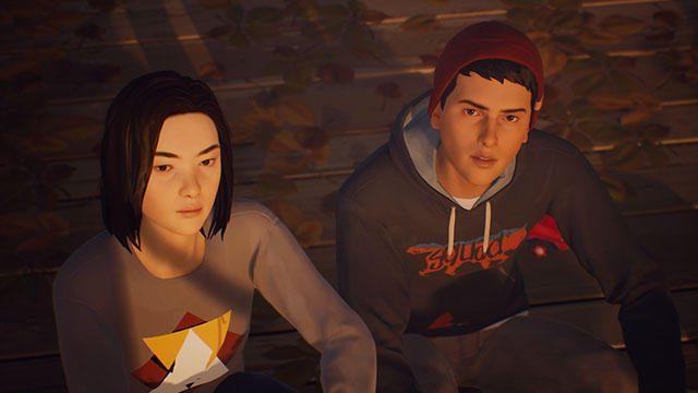 『Life is Strange 2』に登場するさまざまな人物たち。プレイヤーの選択が彼らと弟の人生を変えていく