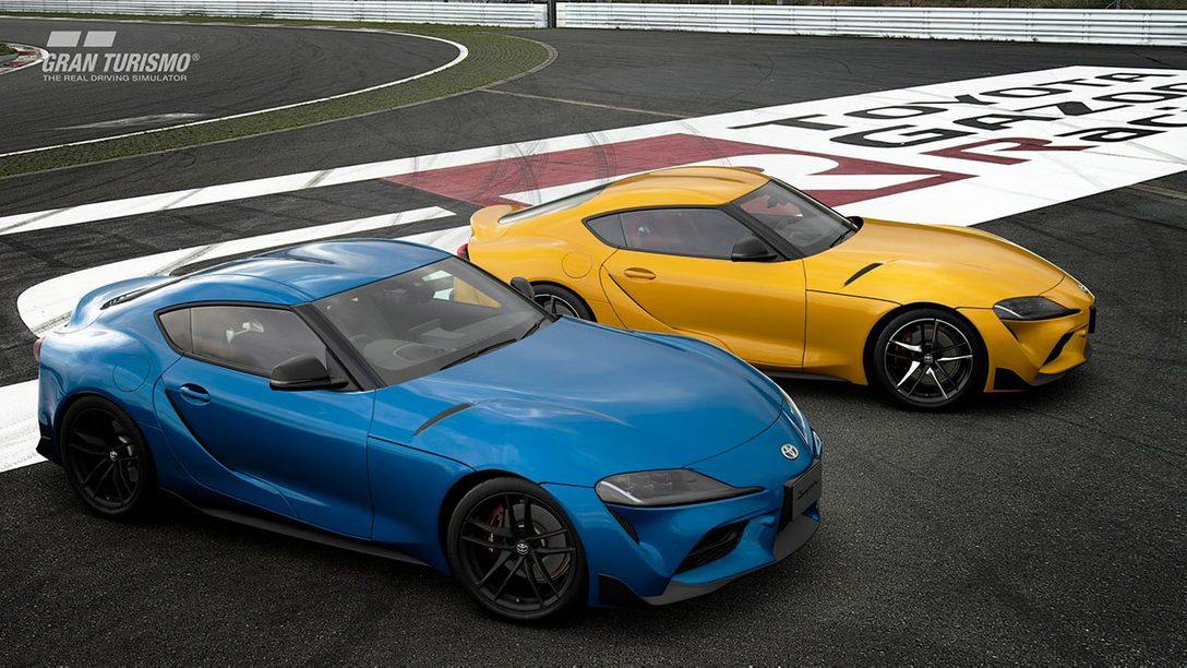 『グランツーリスモSPORT』4月アップデート本日配信! 新車両「トヨタ GRスープラ RZ '20」を追加!