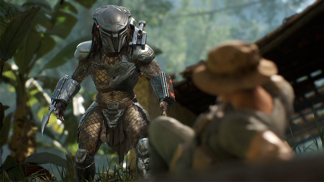 オンラインゲームファンと映画ファンが1対4のバトルに挑戦! 『Predator: Hunting Grounds』プレイレビュー!