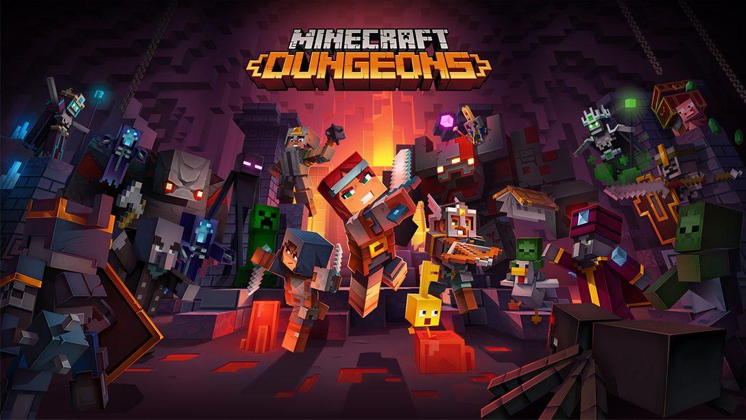 『Minecraft Dungeons』本日配信! 「Minecraft」の世界を舞台にした新作アクションアドベンチャー!