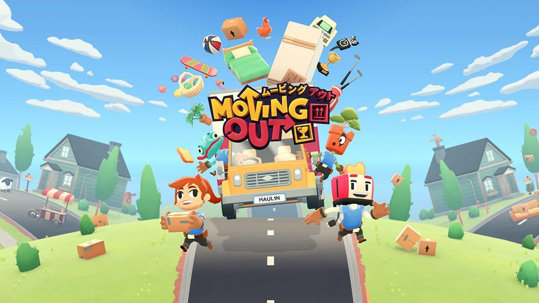 引っ越しアクション『Moving Out』は協力プレイが面白い! 窓を割り、荷物を放り投げ、最速で仕事をこなせ!