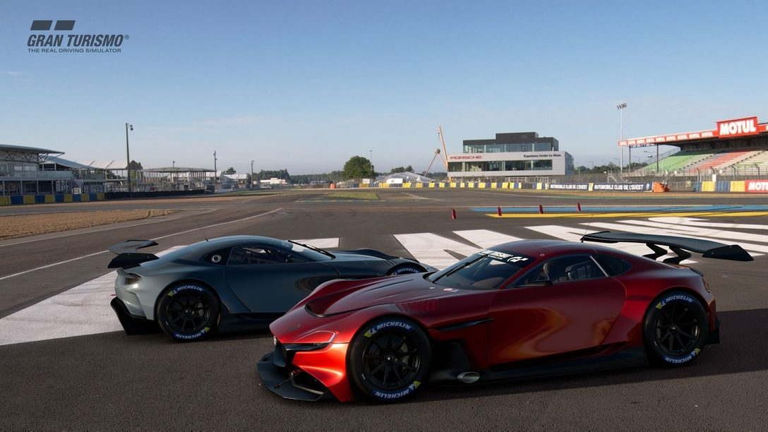 『グランツーリスモSPORT』5月アップデート本日配信! 新車「MAZDA RX-VISION GT3 CONCEPT」を収録!