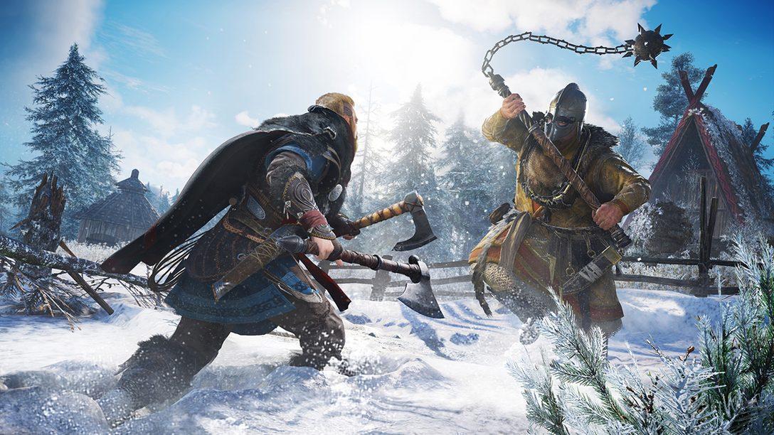 PS4®『アサシン クリード ヴァルハラ』2020年末発売! 新たな舞台はヴァイキングの時代。PS5™でも発売を予定!