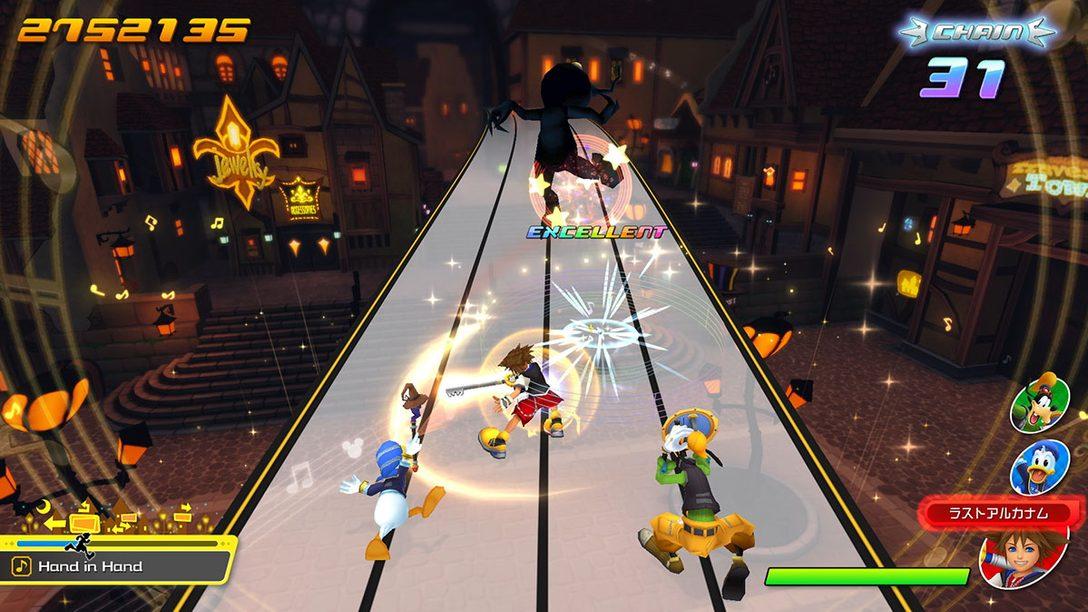 PS4®『KINGDOM HEARTS Melody of Memory』が2020年発売決定! 「KH」シリーズ初のリズムアクションゲーム!