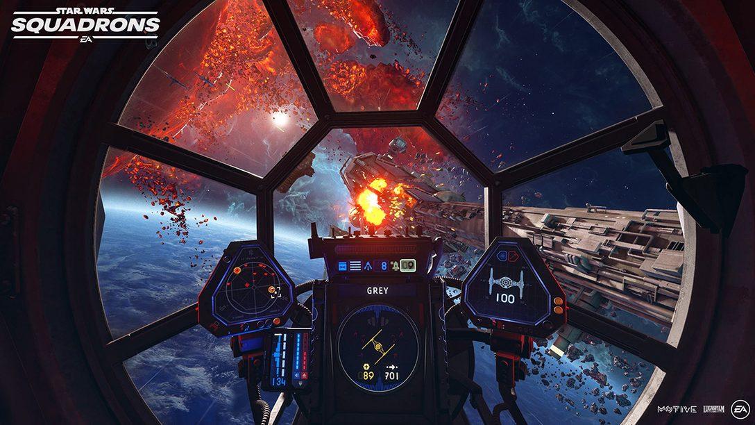 「EA Play Live」で『Star Wars™:スコードロン』『エーペックスレジェンズ』の最新情報が公開!