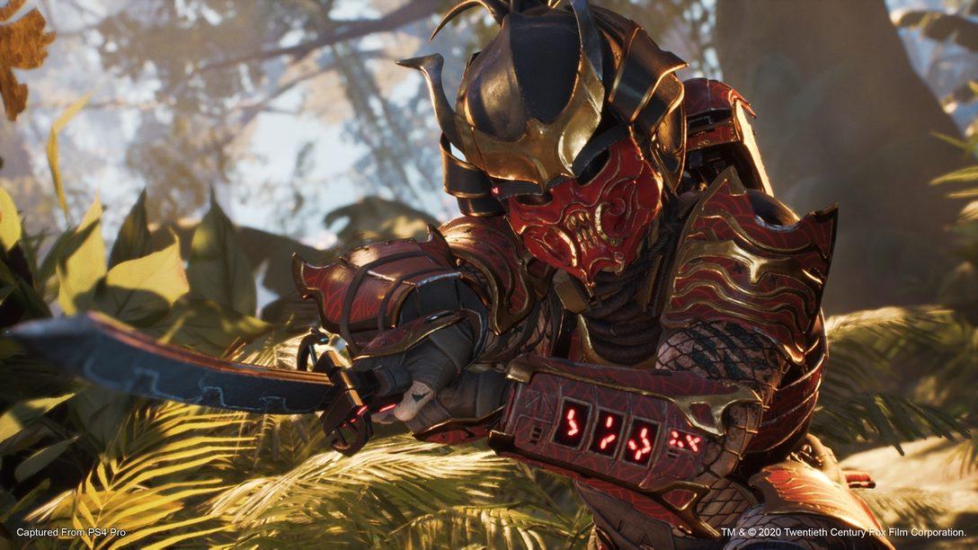 『Predator: Hunting Grounds』DLC第二弾「サムライプレデター」発売! はるか昔の日本を襲った悪魔が参戦!!