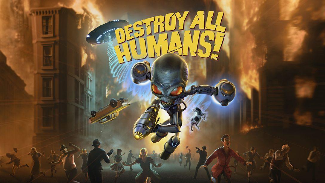 あのカルト的名作が帰ってきた! 伝説のエイリアン侵略アクション『Destroy All Humans!』本日配信!