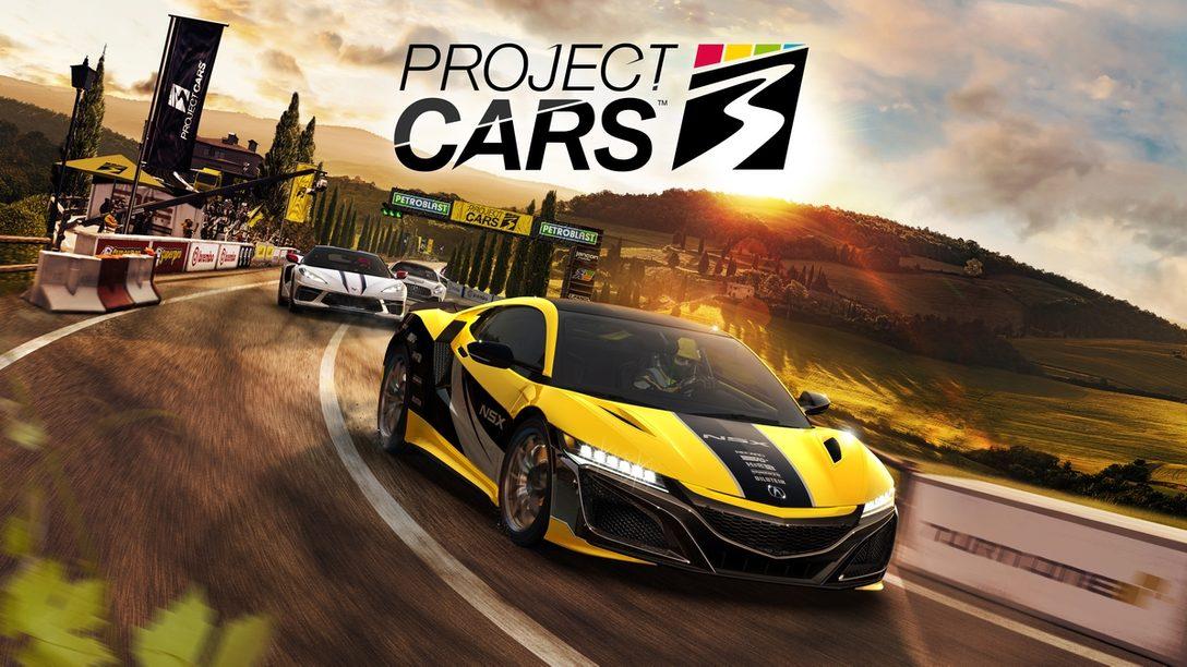 PS4®『Project CARS 3』の発売日は9月10日(木)! アキュラNSXが登場するメインビジュアルも公開!!