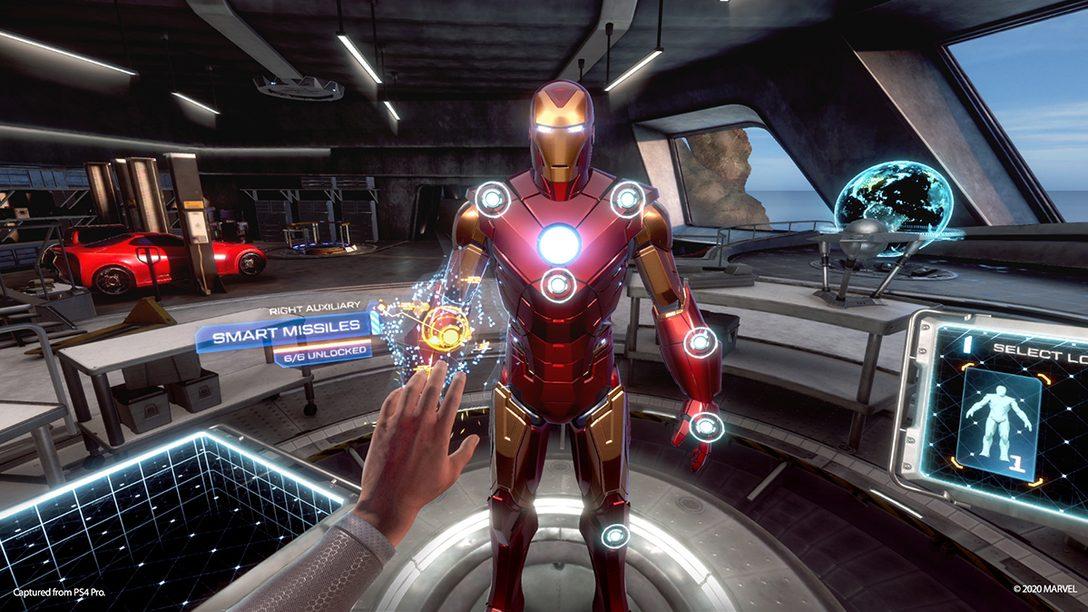 """【PS VR】""""私がアイアンマンだ!""""──『マーベルアイアンマン VR』の高速飛行&迫力バトルを体感せよ!"""
