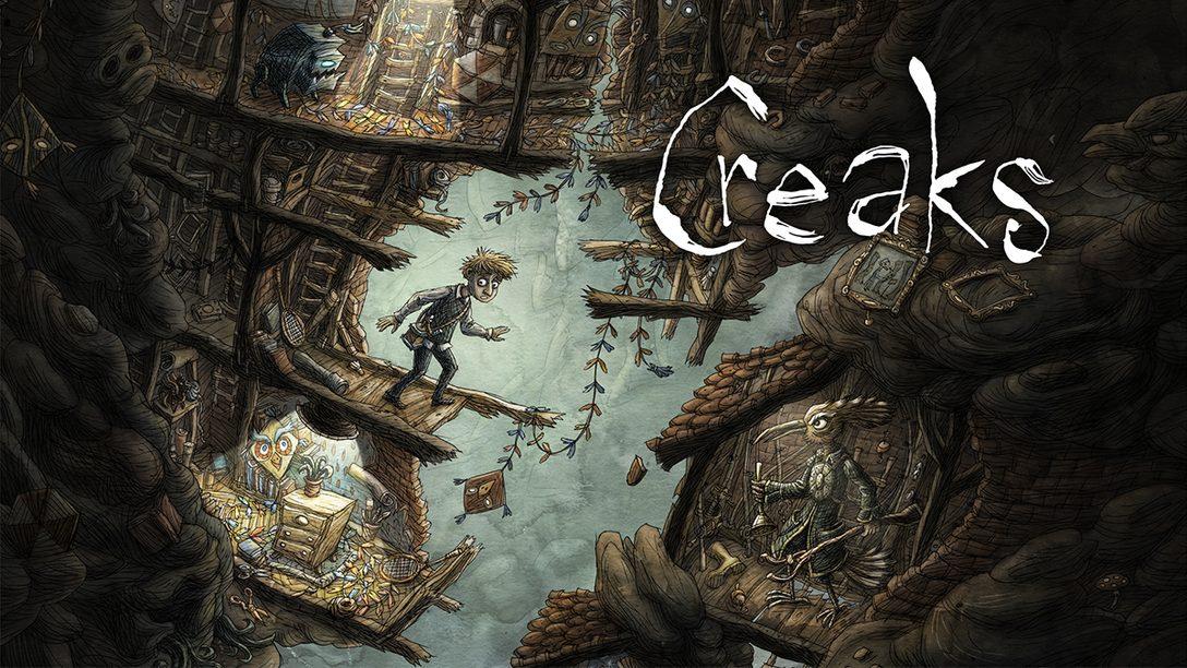 『Creaks(クリークス)』本日配信! 『マシナリウム』のアマニタデザインが手掛けた新作パズルアドベンチャー!