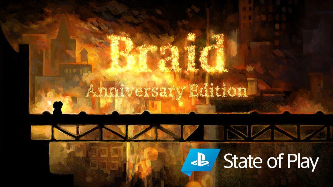 PS4®とPS5™向けに『Braid, Anniversary Edition』を発表
