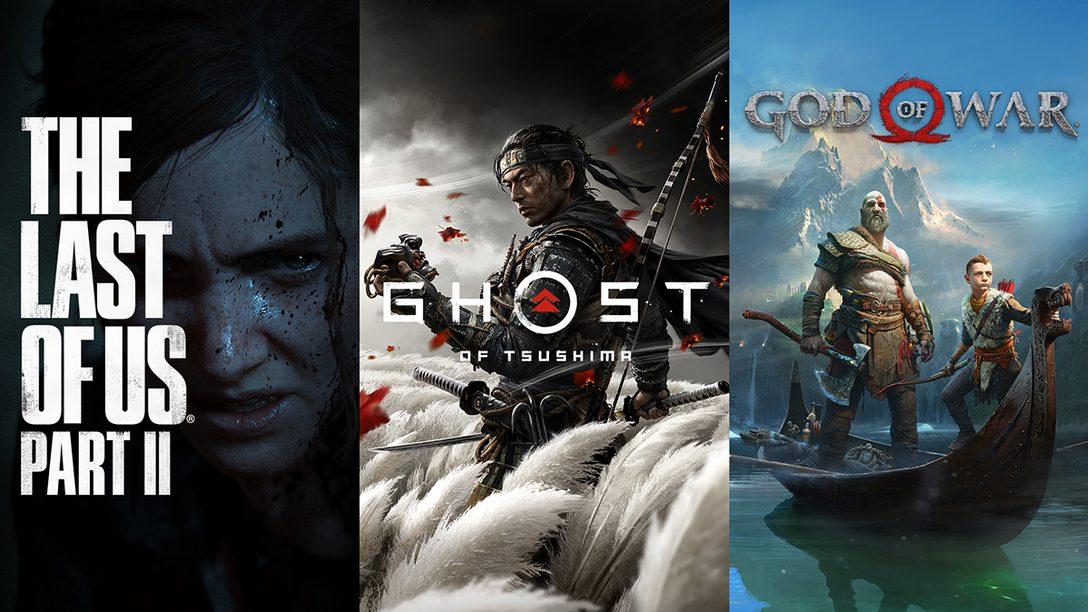 『The Last of Us Part II』『ゴッド・オブ・ウォー』『Ghost of Tsushima』オリジナルグッズ新商品が登場!