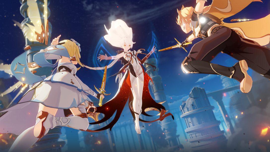 『原神』が9月28日(月)にPS4®でリリース決定! PlayStation®限定アイテムなど最新情報を紹介!