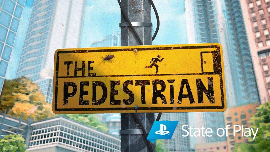 2021年1月、すべての標識が『THE PEDESTRIAN』を指し示す