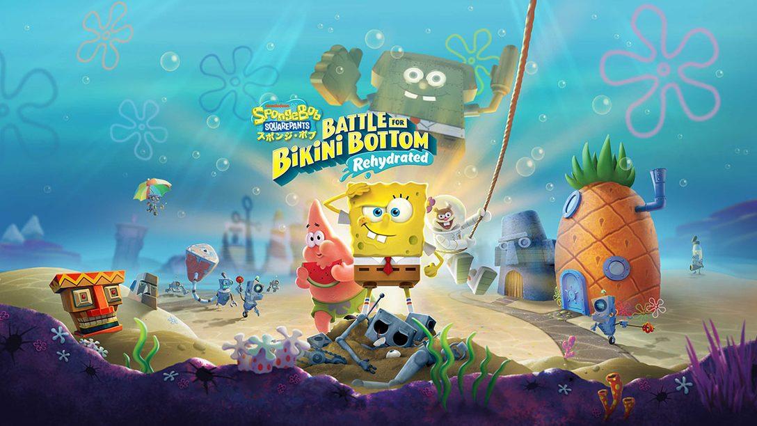 『スポンジ・ボブ:Battle for Bikini Bottom - Rehydrated』本日配信! 2003年の人気アクションがPS4®で復活!
