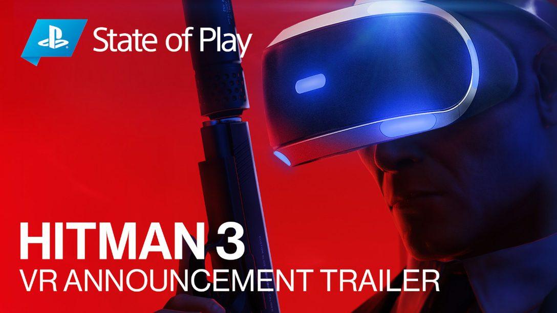 2021年1月発売の『ヒットマン3』がVRへの対応を追加! 「World of Assassination」の全三部作をVRでプレイしよう