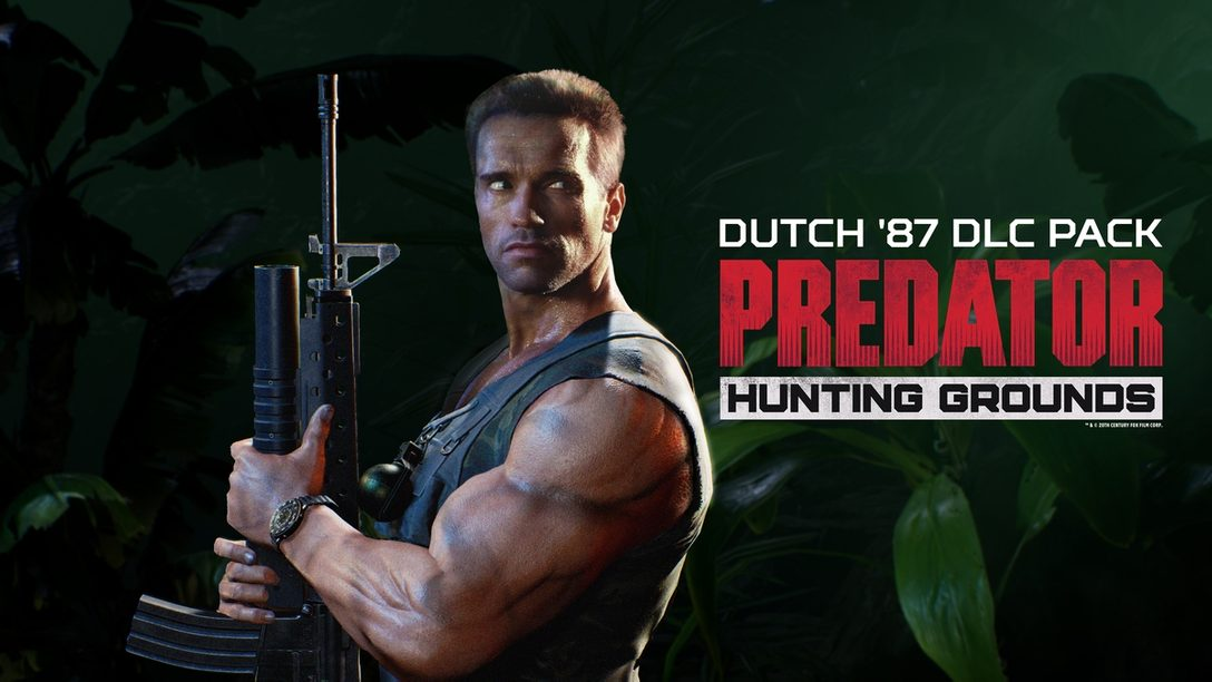 『Predator: Hunting Grounds』期間限定トライアルを8月28日より実施! 9月1日にはDLC第四弾「ダッチ'87」発売!