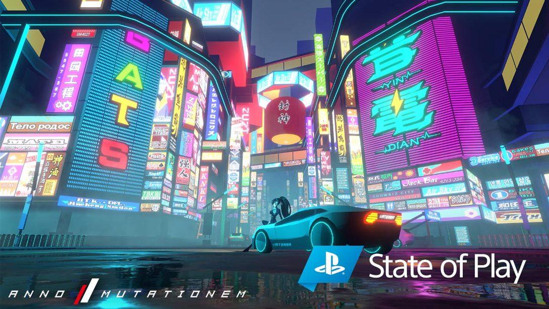 『Anno: Mutationem』のサイバーパンクの世界がPS4®に登場。ネオンに濡れた2D/3Dハイブリッドアドベンチャー