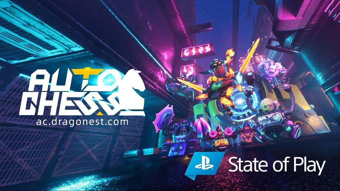 『Auto Chess』、2020年10月にPS4®でリリース。人気の戦略オートバトラーゲームを楽しもう!