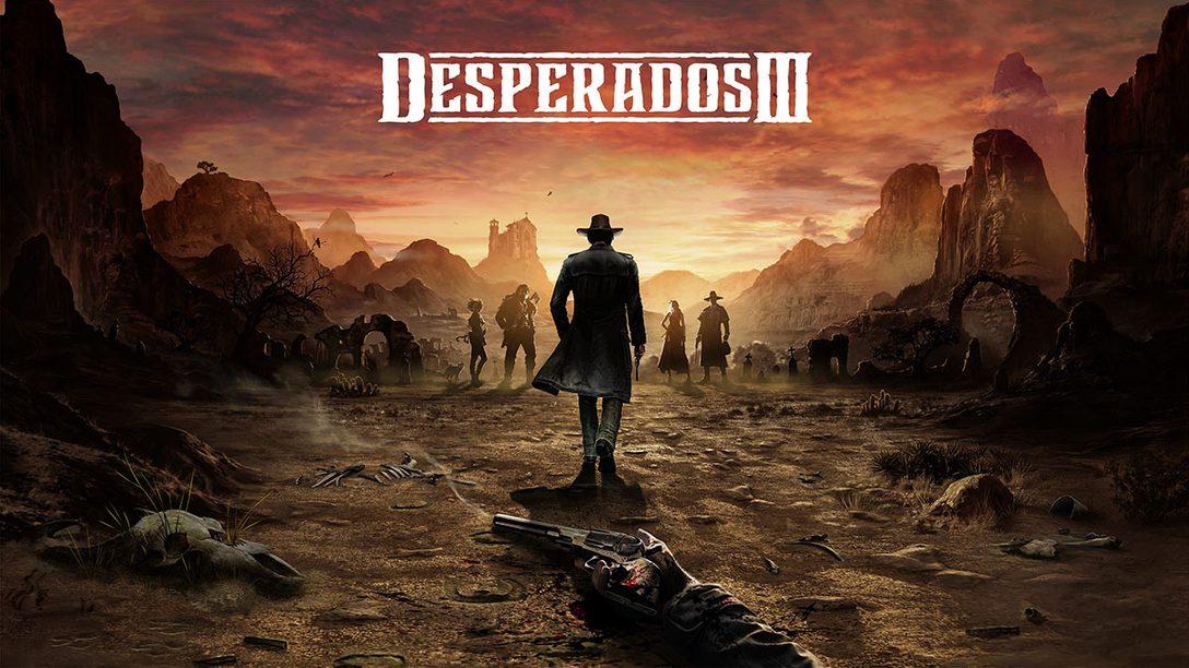 『Desperados III』がPS4®で本日配信開始! 西部開拓時代を舞台にしたステルス系戦術ゲームの最新作