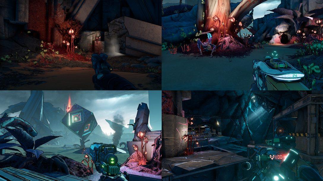 『ボーダーランズ3』がPS5™に対応! オフライン協力プレイで4人の画面分割プレイが可能に!