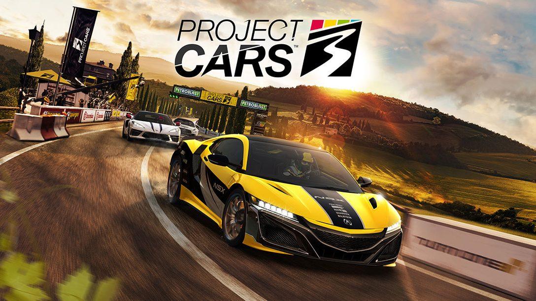 あなただけの極上のドライブ体験を──PS4®『Project CARS 3』本日9月10日発売!