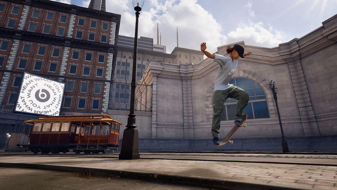 『トニー・ホーク™ プロ・スケーター™ 1+2』本日発売! スケボーゲームの名作2本をPS4®でリマスター!