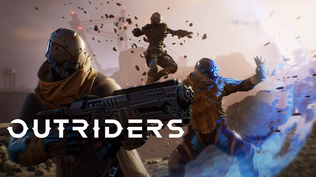 弾丸と超能力が飛び交うTPS『OUTRIDERS』が今冬にPS5™/PS4®で発売決定! 最新トレーラーも公開!