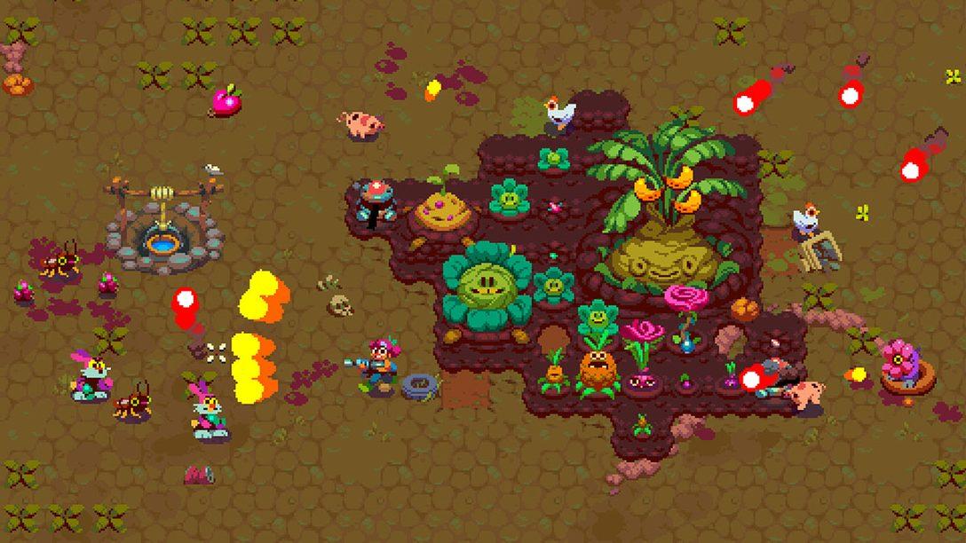 『アトミクロップス』本日発売! 荒廃した世界で敵から作物を守る新感覚の農業アクション!