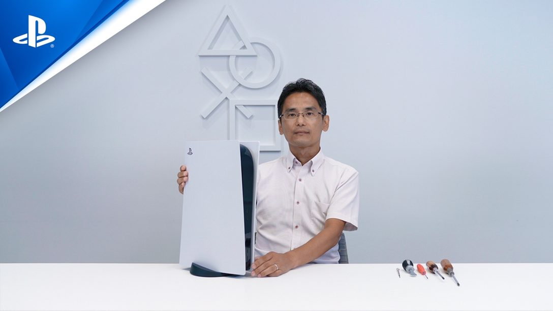 PlayStation®5本体の分解映像を公開!