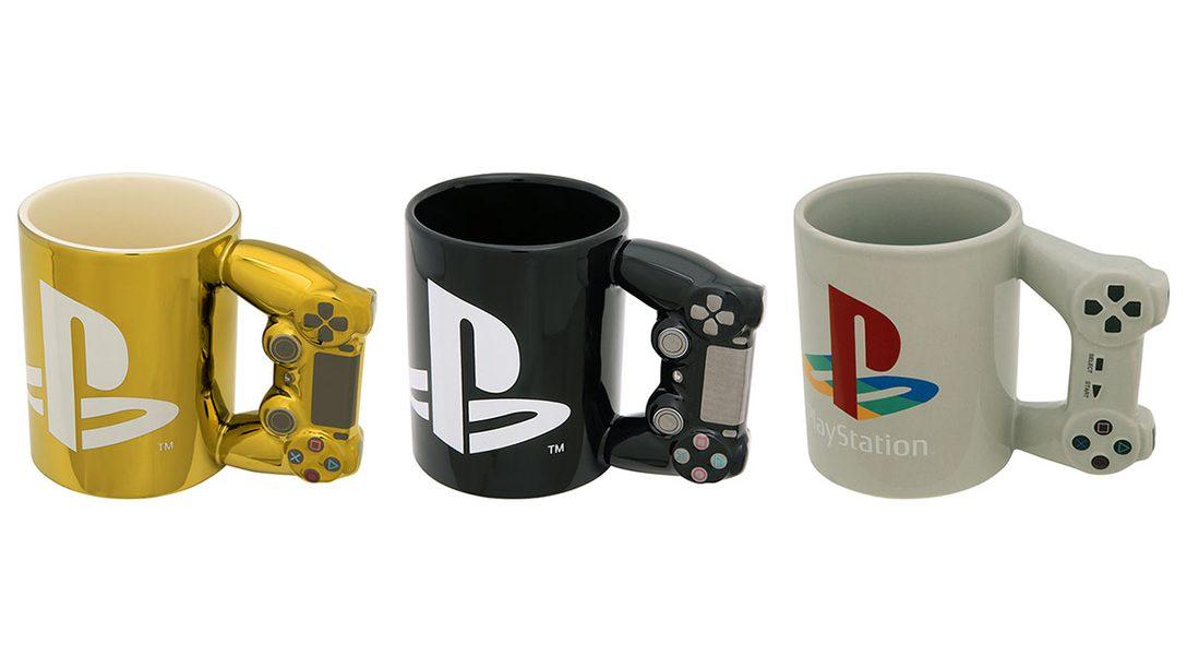 PlayStation®公式ライセンスグッズが本日より順次発売! 持ち手がコントローラー型のマグカップも!