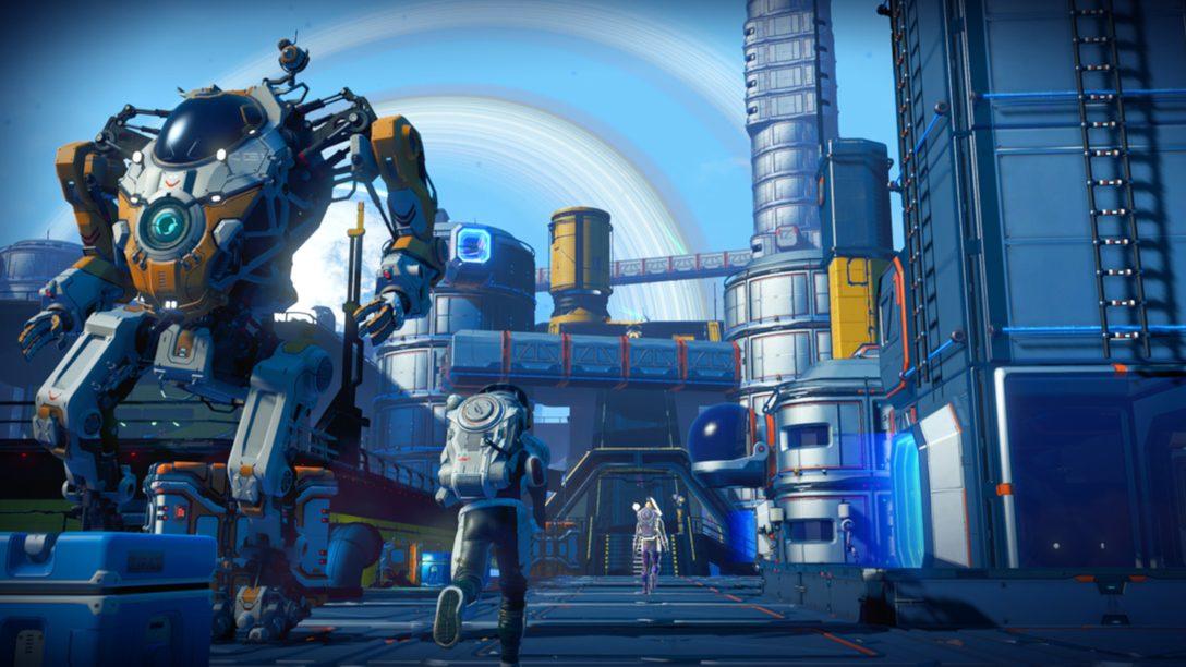 『No Man's Sky』が進化してPS5™に登場! 次世代のゲームプレイや、PS5版へのアップグレードなどを紹介!