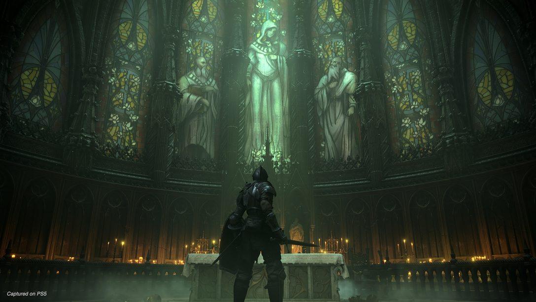 PS5™『Demon's Souls』ゲームプレイトレーラーを公開! 「タカアシ鎧蜘蛛」「炎に潜むもの」との死闘を収録!